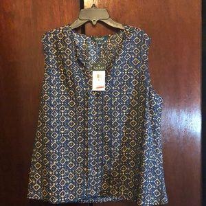 Lauren sleeveless blouse